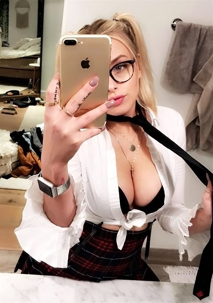 Corinna Kopf big boobs