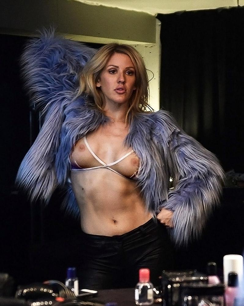 Ellie Goulding nude boobs