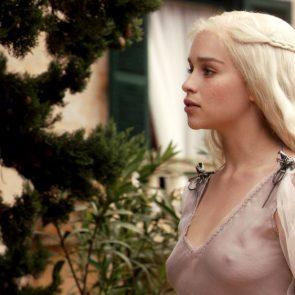 Emilia Clarke nipples