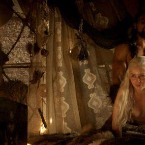 Emilia Clarke sex from behind