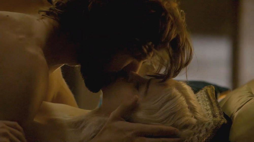 Emilia Clarke having passionate sex