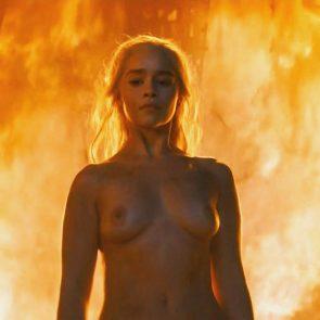 Emilia Clarke naked tits