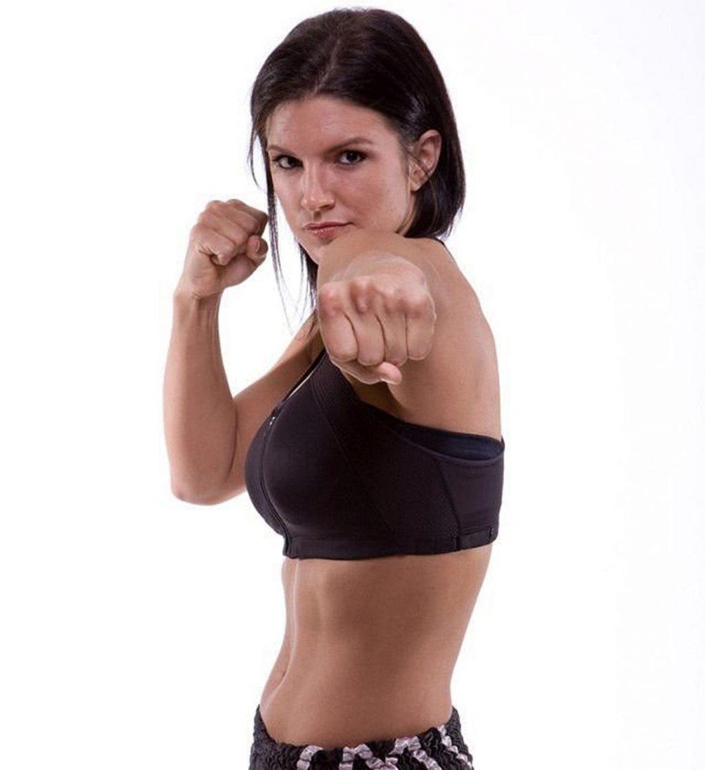 Gina Carano boxing