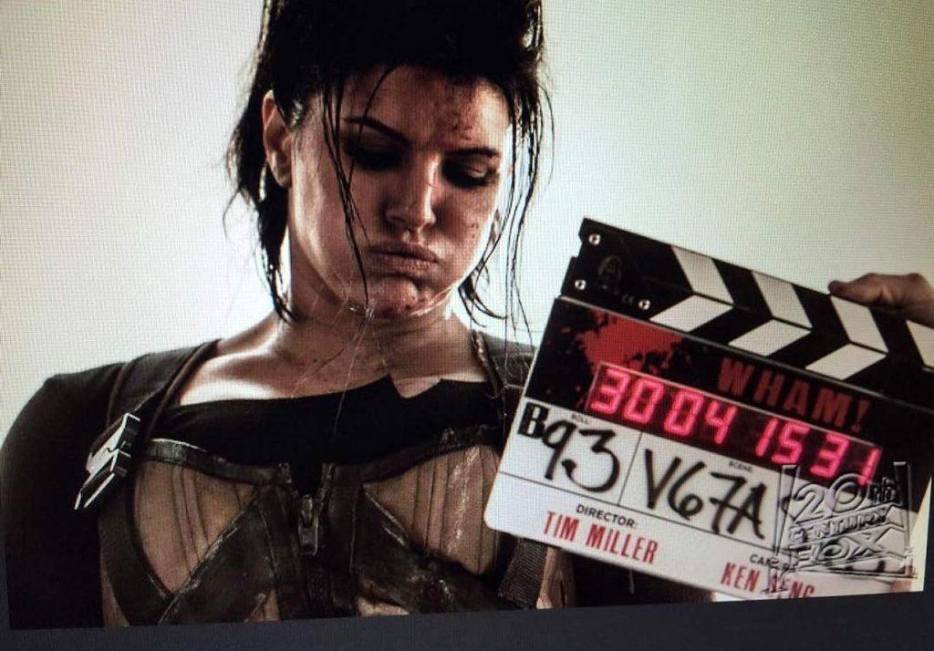 Gina Carano bts