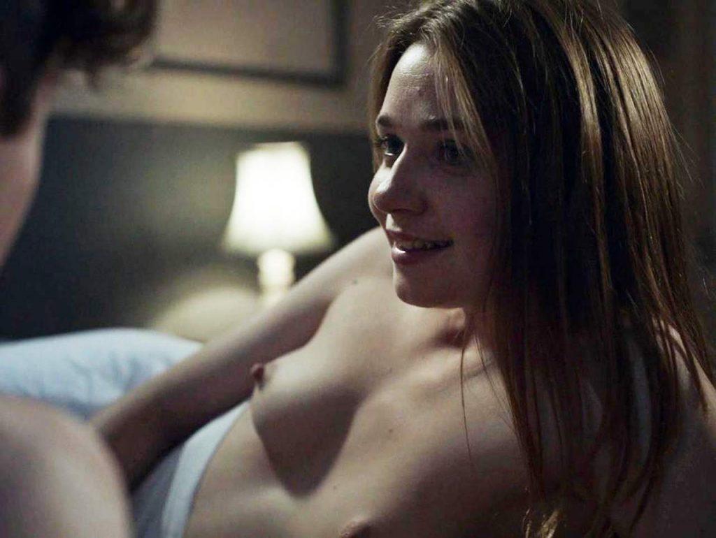 Jessica Barden topless