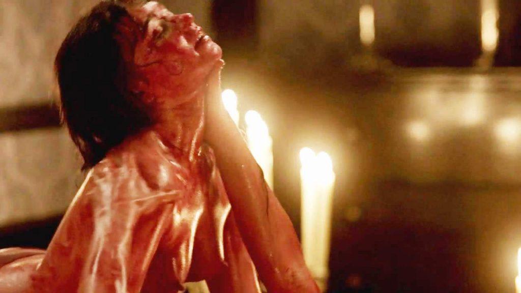 Jessica Barden naked sex scene