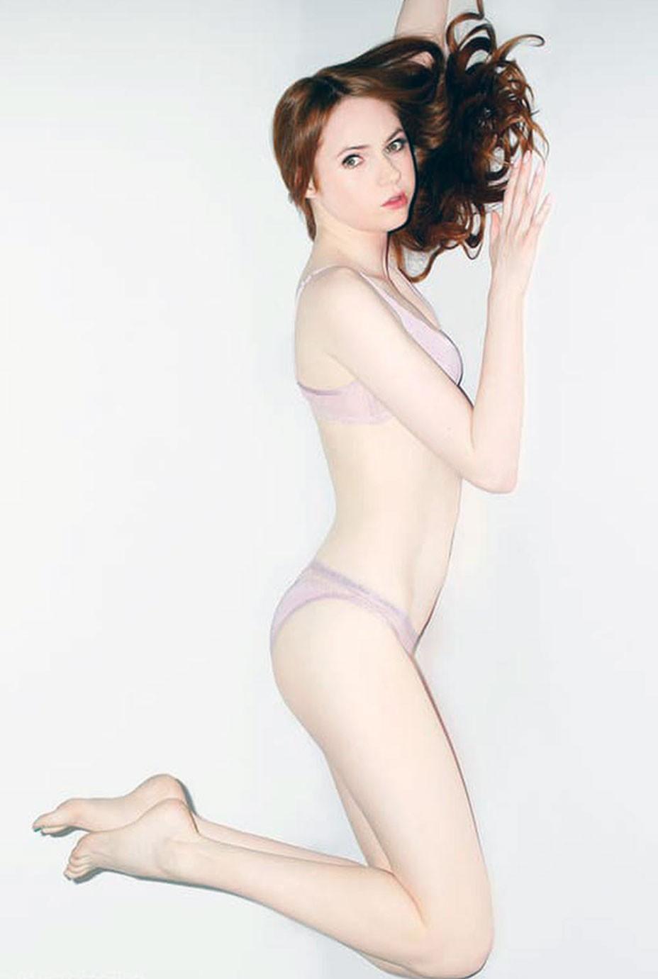 Karen Gillan butt