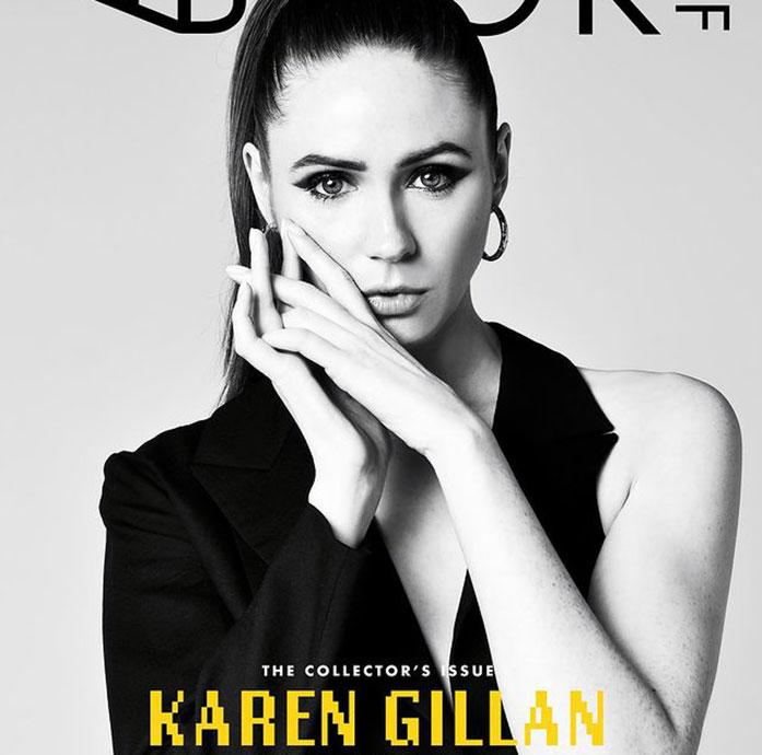 Karen Gillan boobs