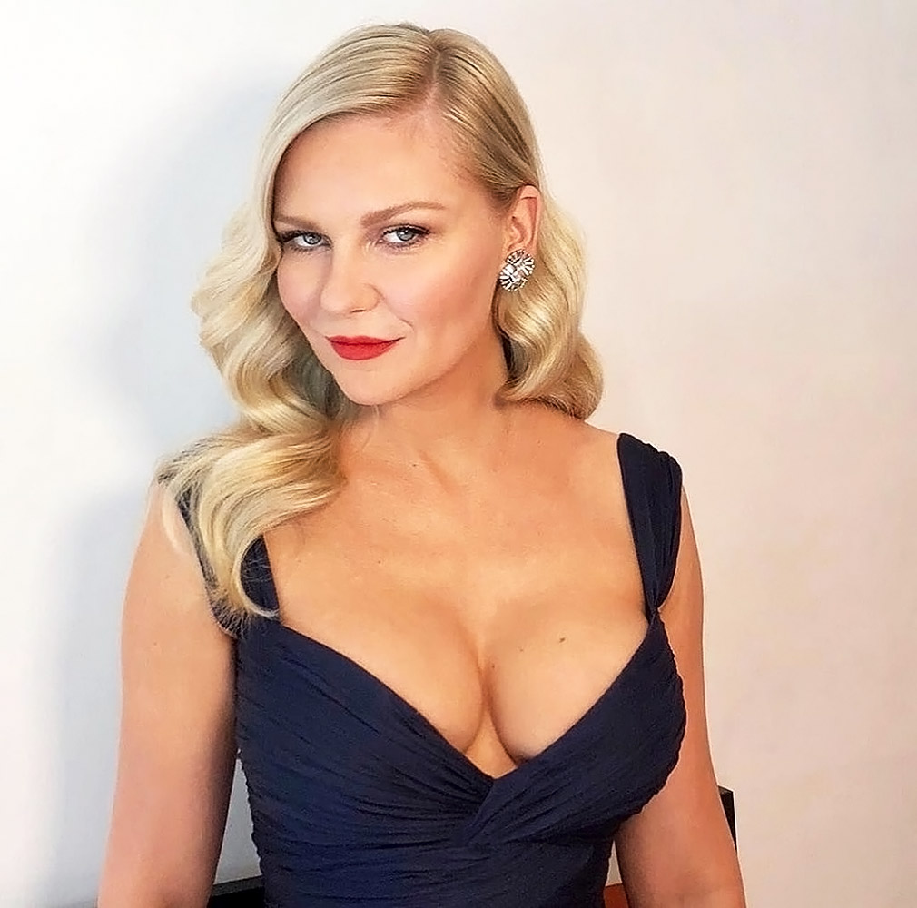 Kirsten Dunst cleavage