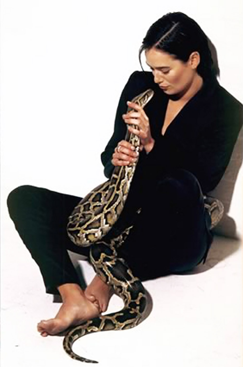 lena headey hot with snake