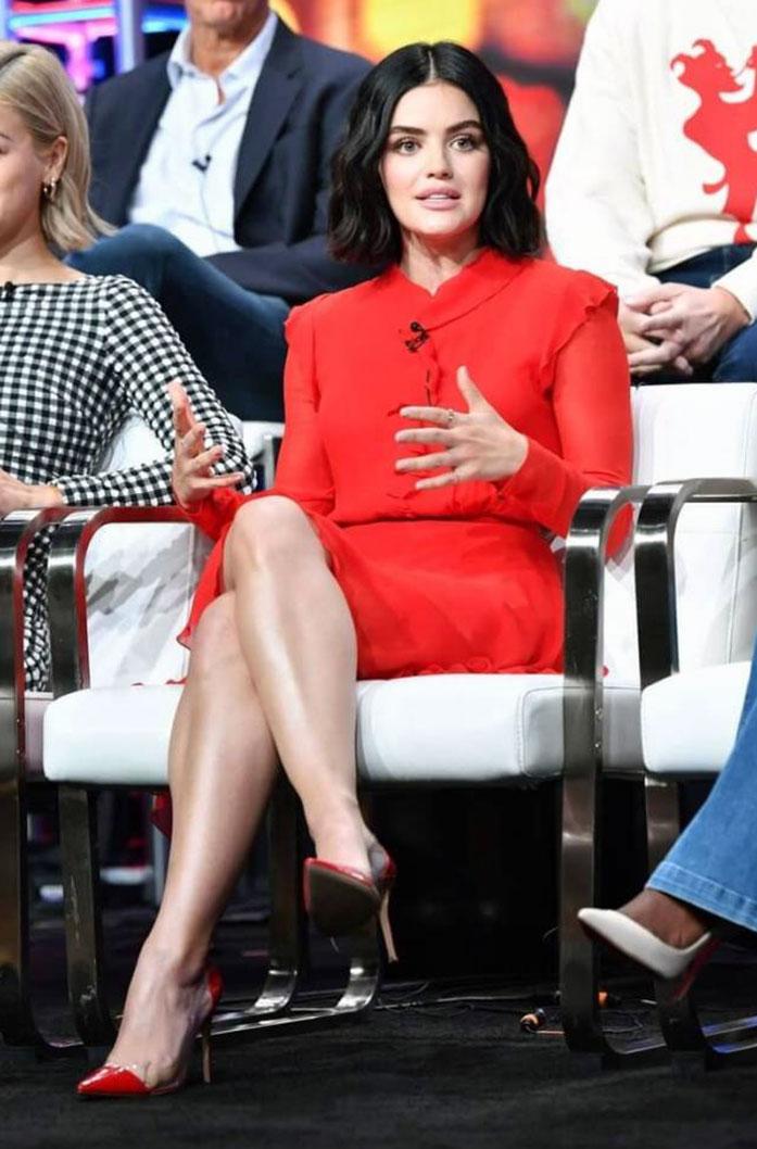 Lucy Hale feet