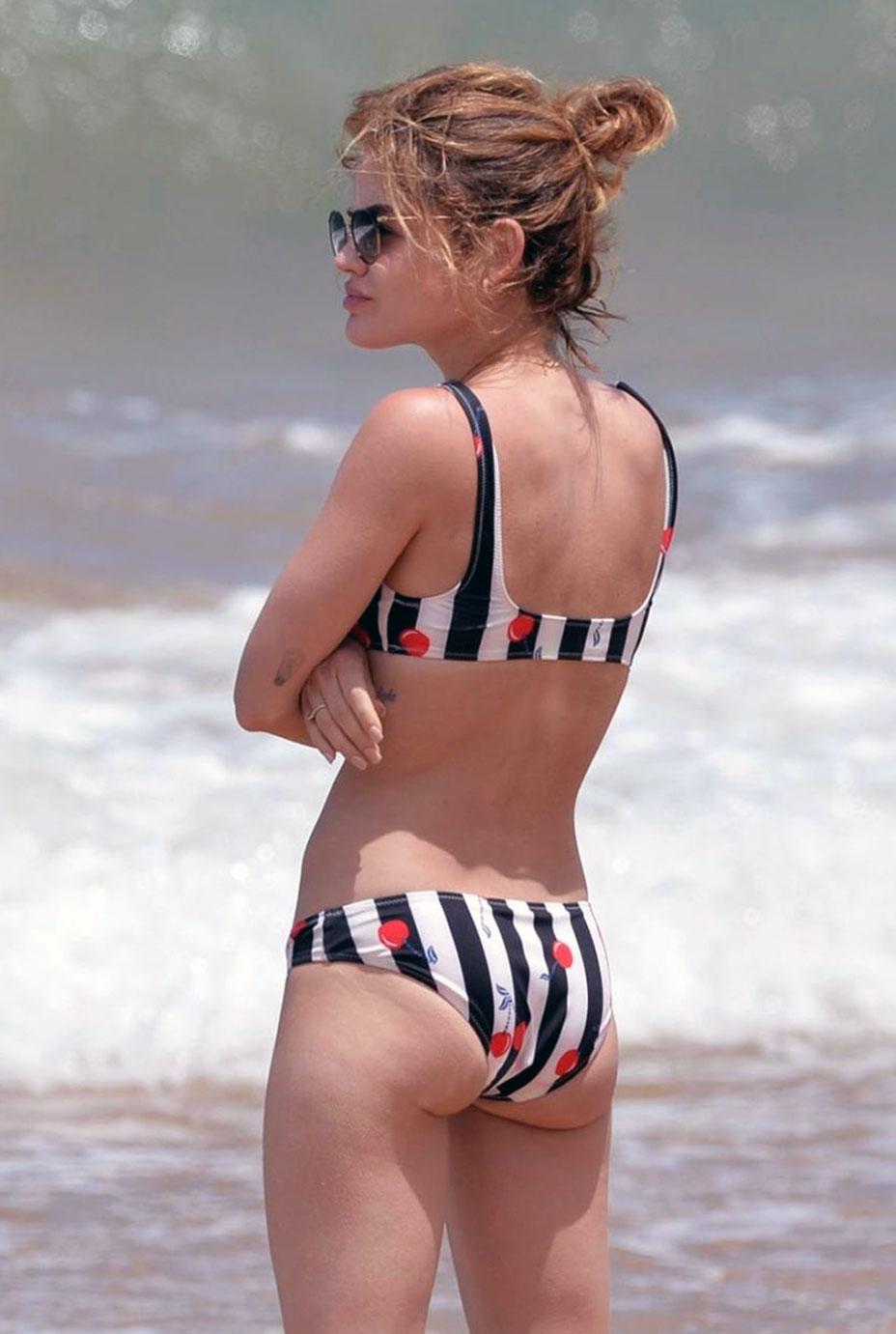 Lucy Hale ass
