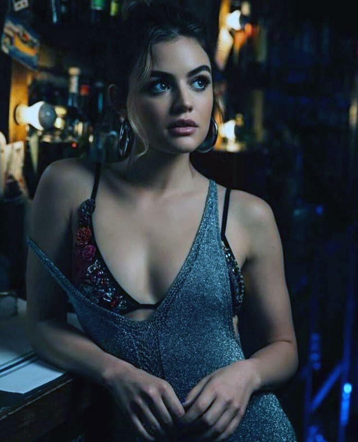 Lucy Hale boobs