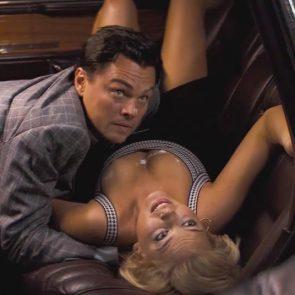 Margot Robbie cleavage