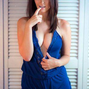 Meg Turney deep cleavage