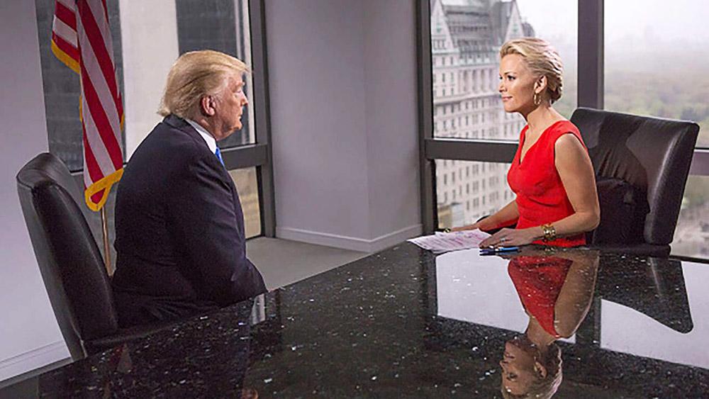 Megyn Kelly with trump