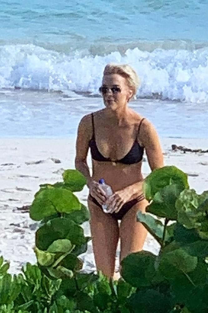 Megyn Kelly black bikini
