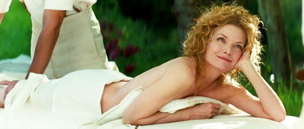 Michelle Pfeiffer sexy massage
