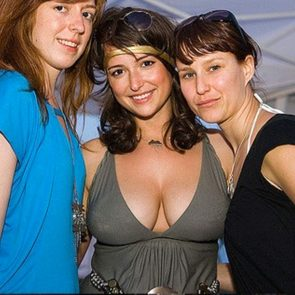 Milana Vayntrub deep cleavage