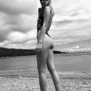 Nicola Peltz nude ass beach