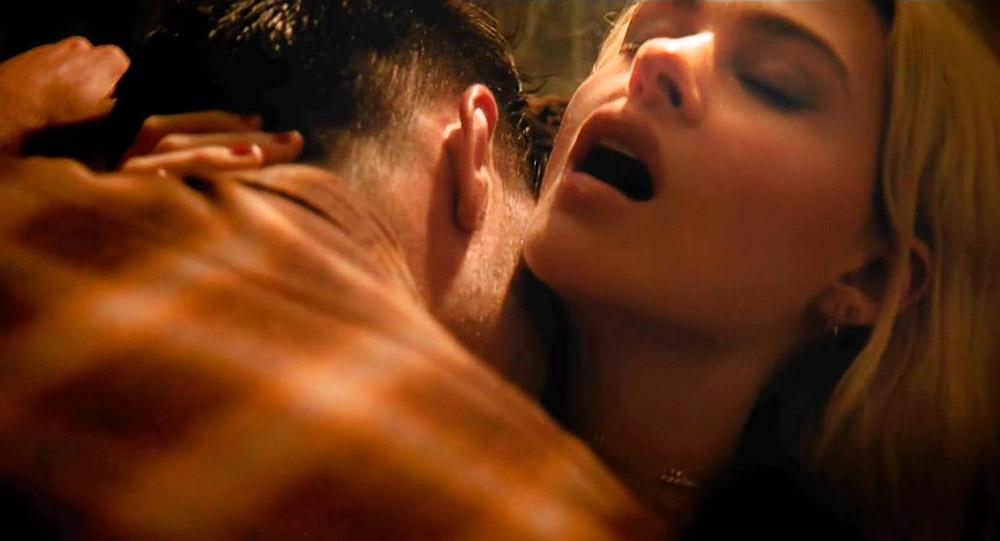 Nicola Peltz moaning in sex scene