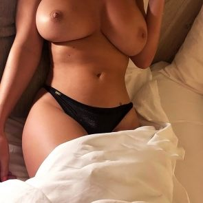 Rhian Sugden naked tits