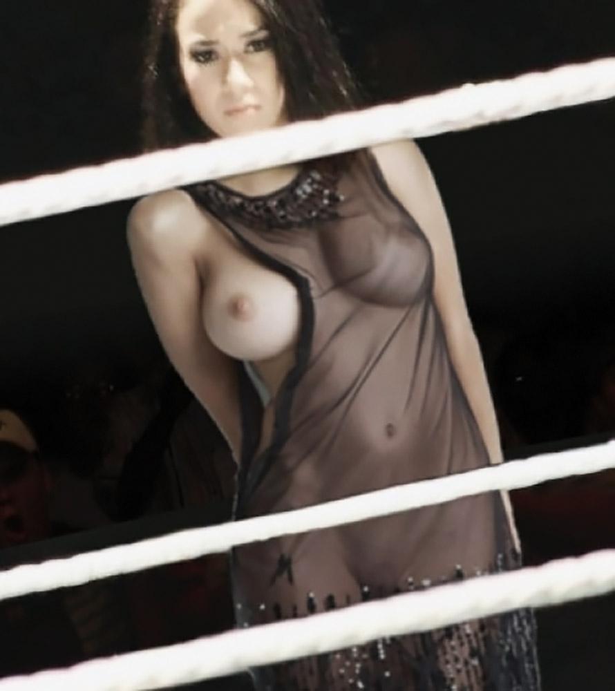 Aj Lee naked tits