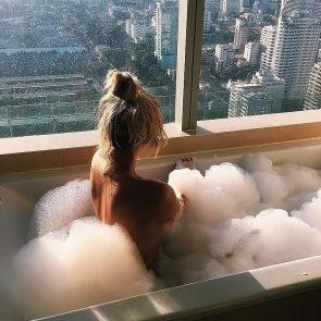 Anastasia Karanikolaou naked in bathtub