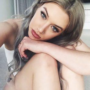 Anastasia Karanikolaou grey hair