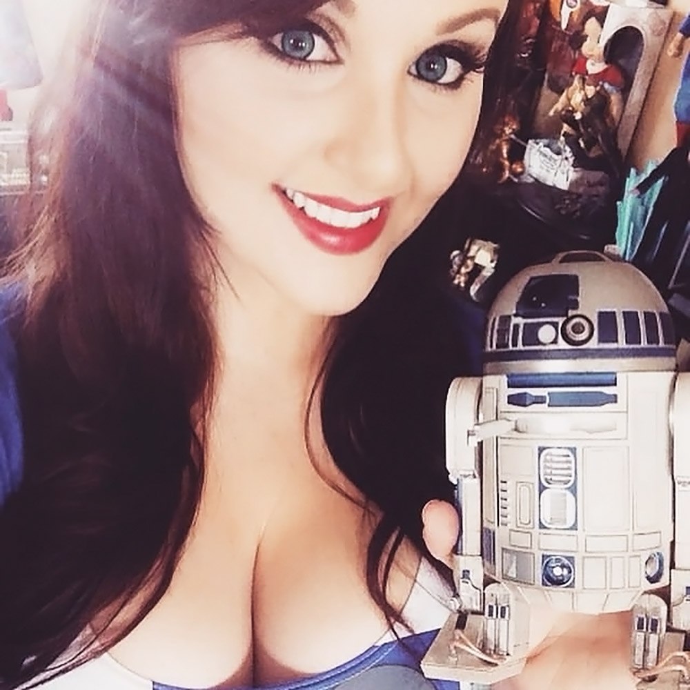 Angie Griffin busty tits