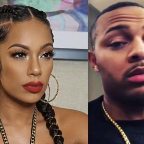 Erica Mena and rapper bow wow