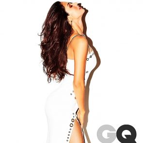 Disha Patani white dress