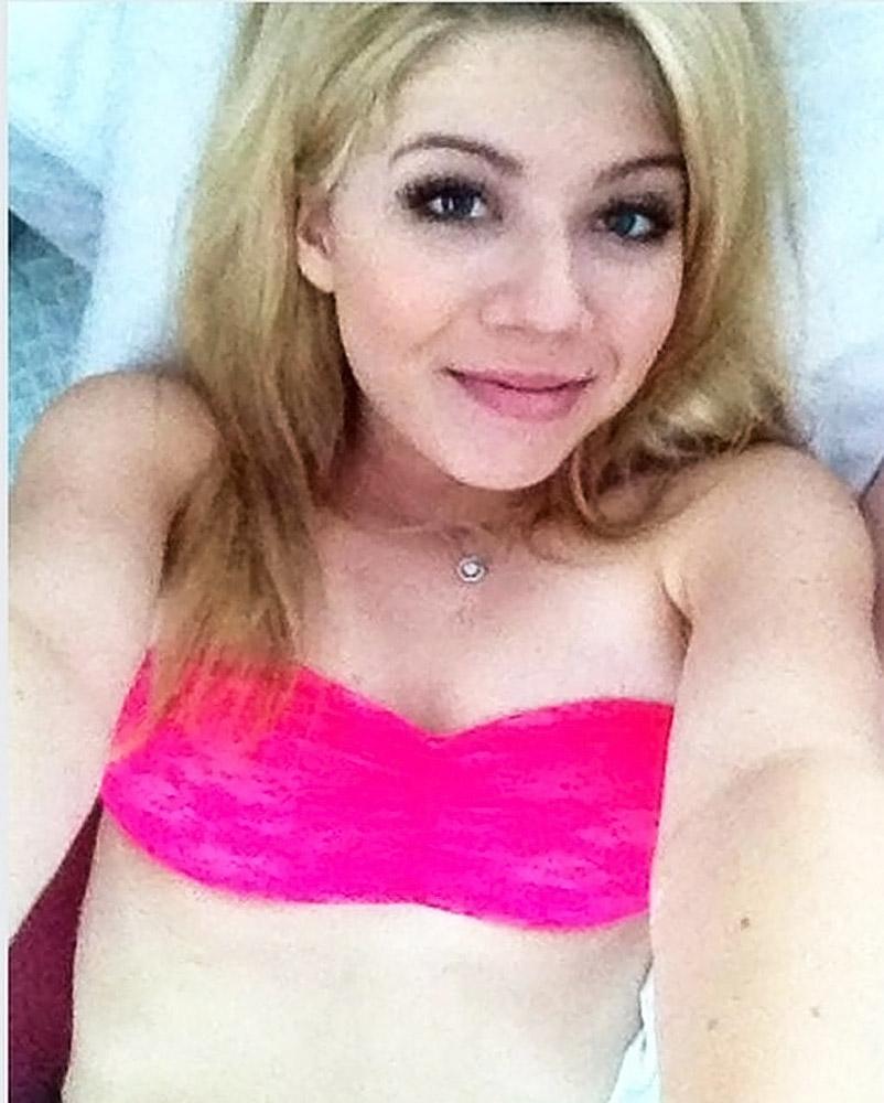 Jennette Mccurdy leaked selfie