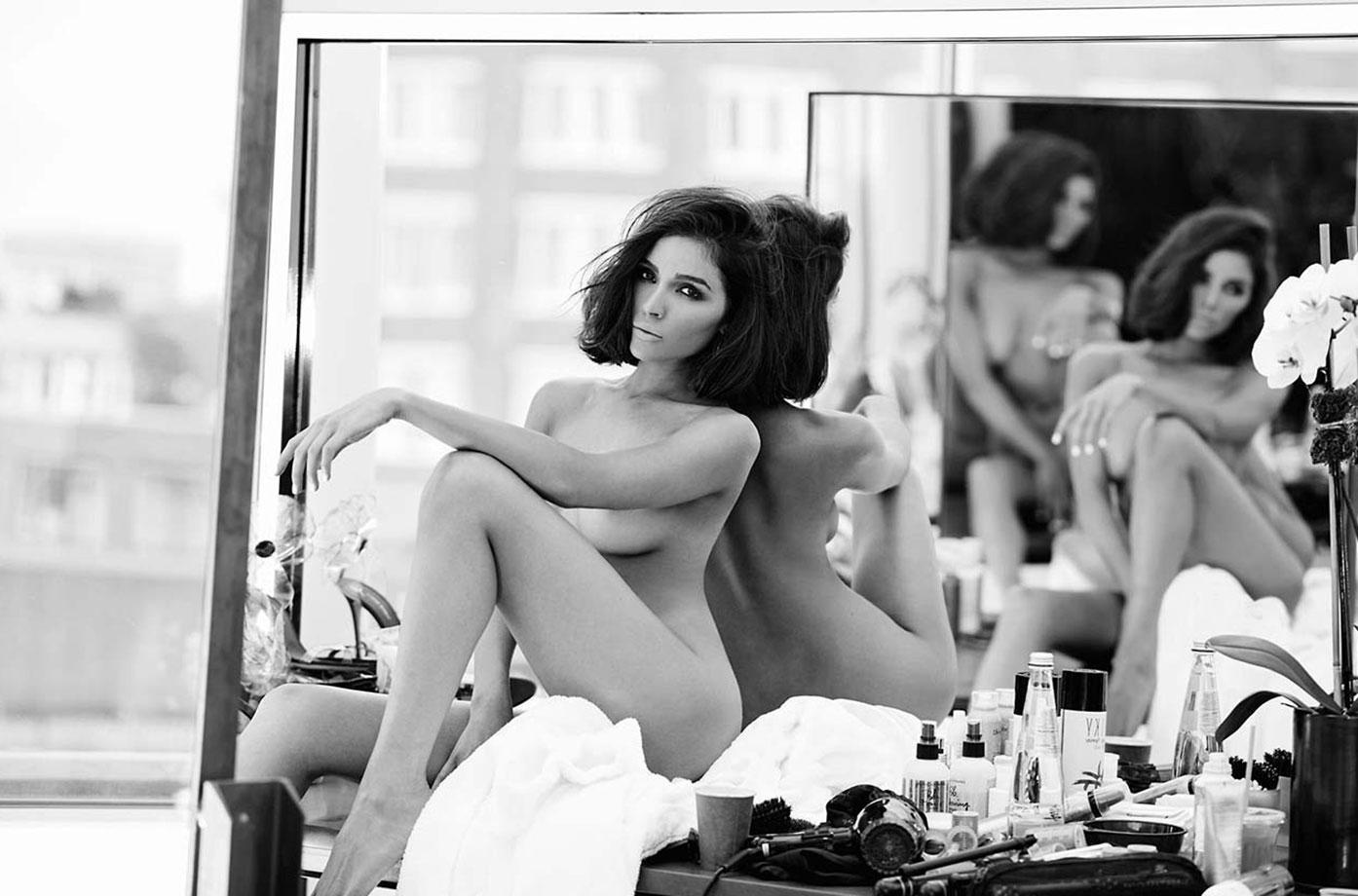 Olivia Culpo topless