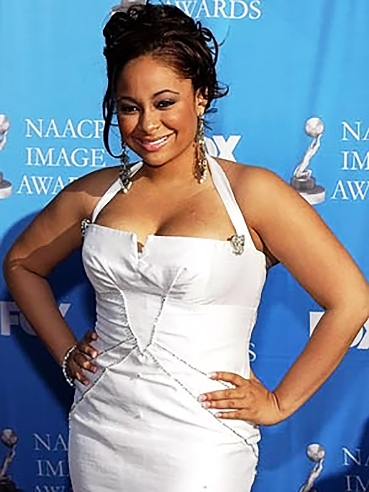 Raven Symone hot cleavage