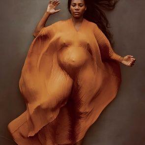 Serena Williams nude pregnant