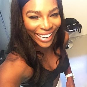 Serena Williams nude selfie