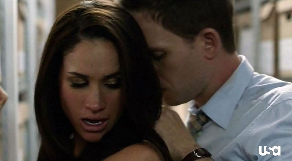 Meghan Markle naked and sexy scene