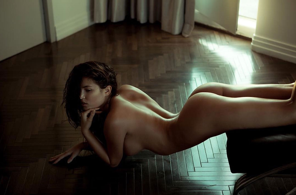 Canadian model angel constance naked sexy for playboy plus