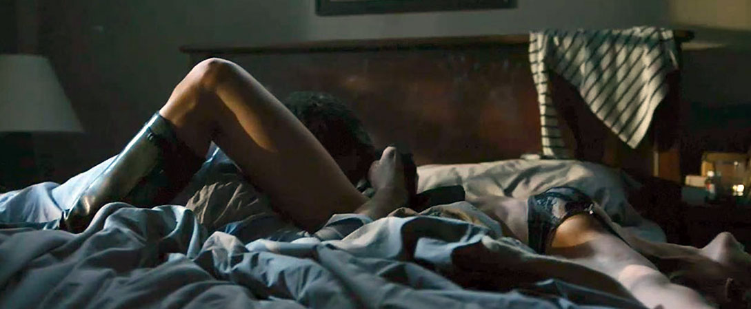 Rosamund Pike nude oral