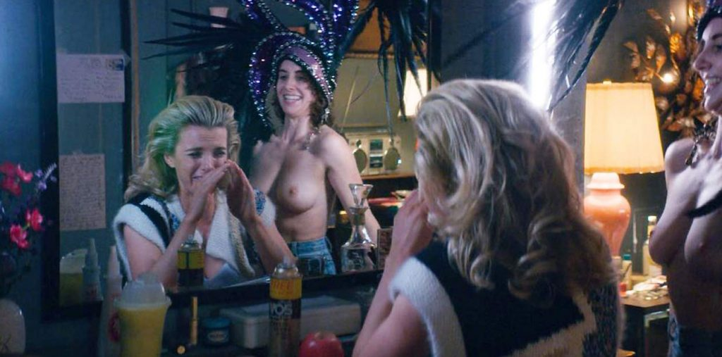 Alison Brie nude dance