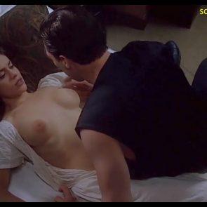 Alyssa Milano nude vampire scene