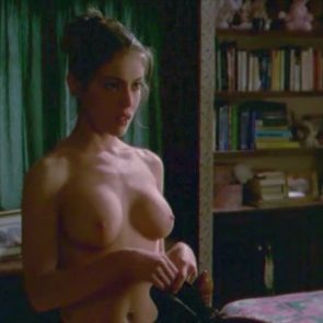 Alyssa Milano nude tits scene