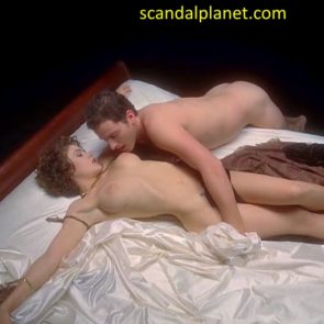 Alyssa Milano nude sex scene vampire