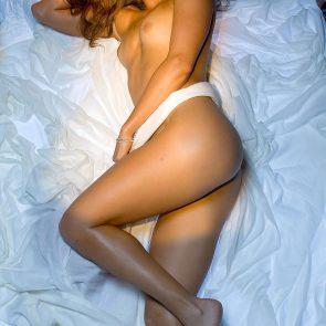 Ashley Harkleroad nude nude in bed