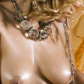 Lana WWE nude tits