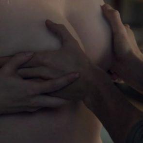 Laura Linney nude tits rubbing