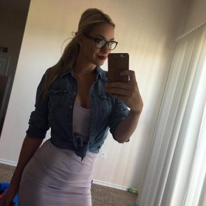 Paige Spiranac nudehot photo