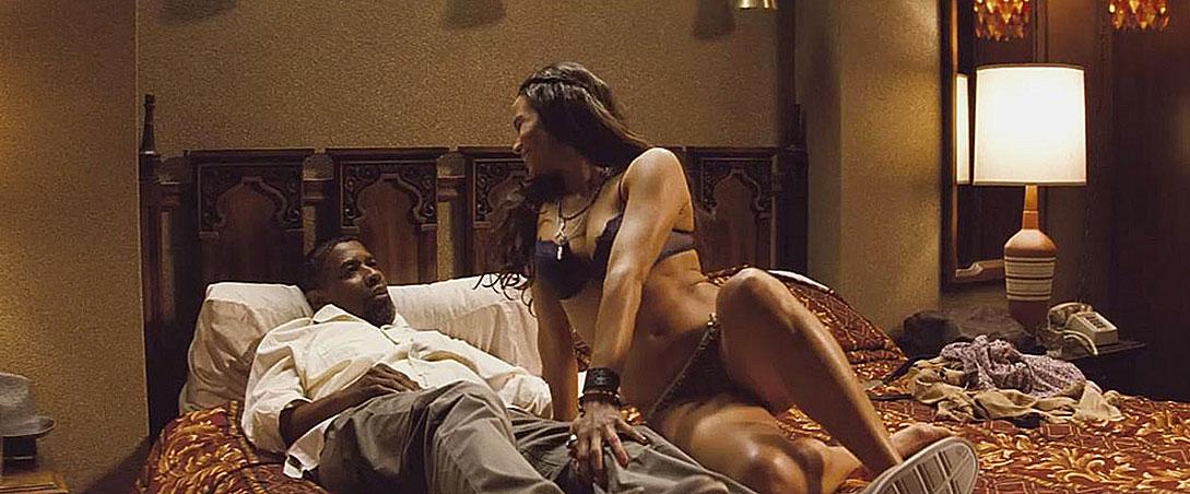 Paula Patton nude scene in lingerie