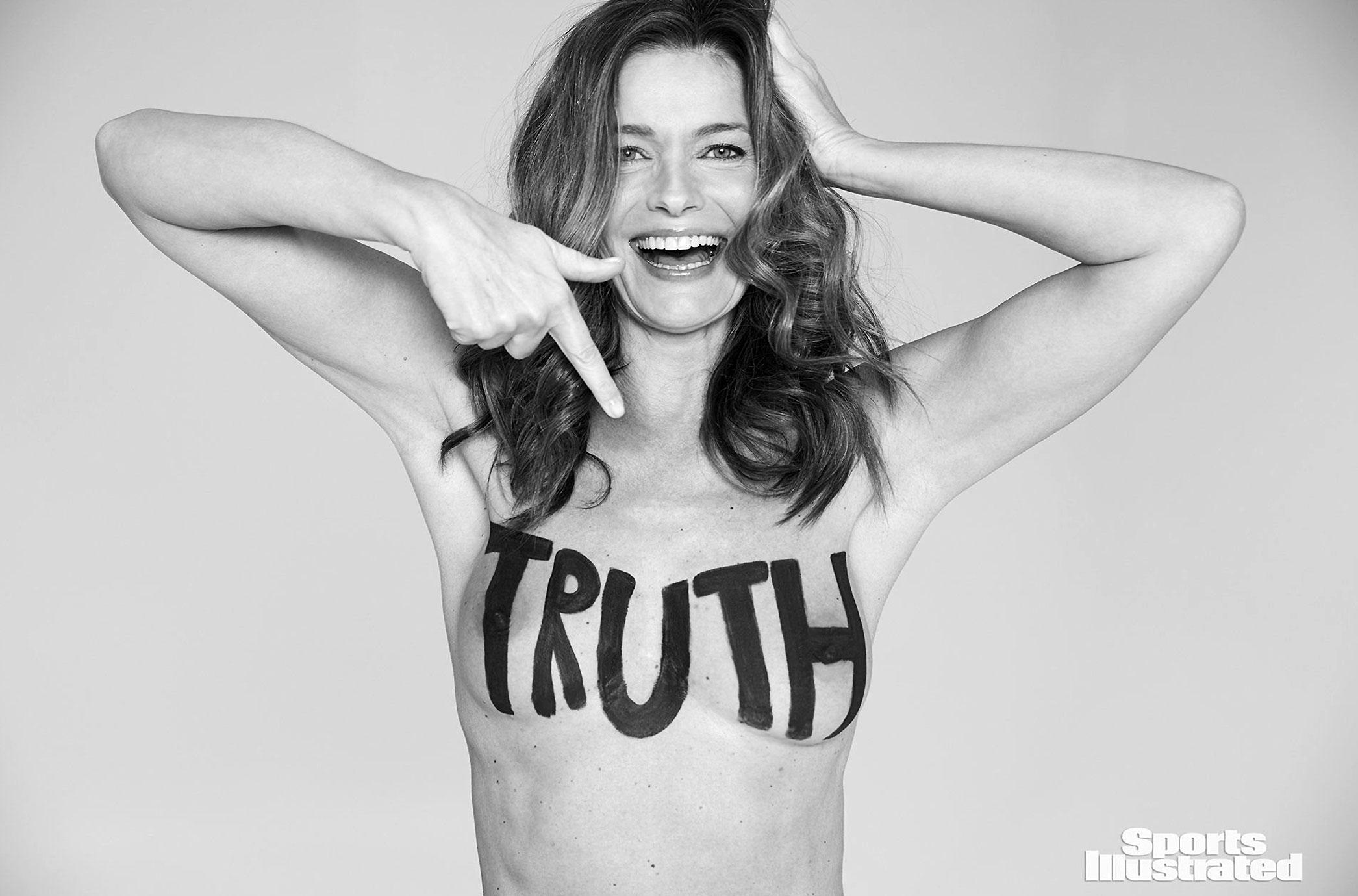 Paulina Porizkova nude - truth